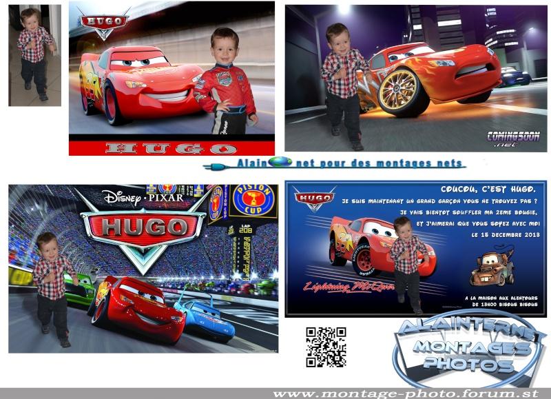 Carte anniversaire thème Car's Alaint12