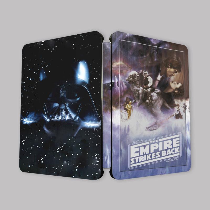 Star Wars: Episode V - The Empire Strikes Back (4K+2D Blu-ray SteelBook) Zavvi Eytlll10