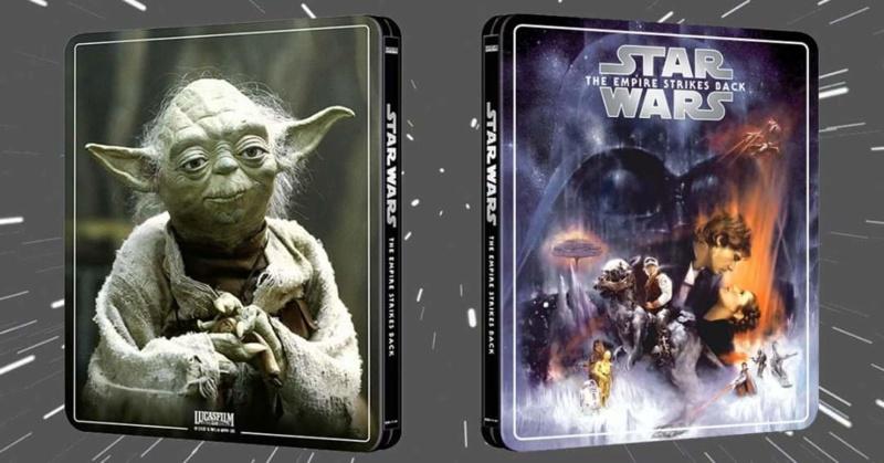 Star Wars: Episode V - The Empire Strikes Back (4K+2D Blu-ray SteelBook) Zavvi Eyuclb10