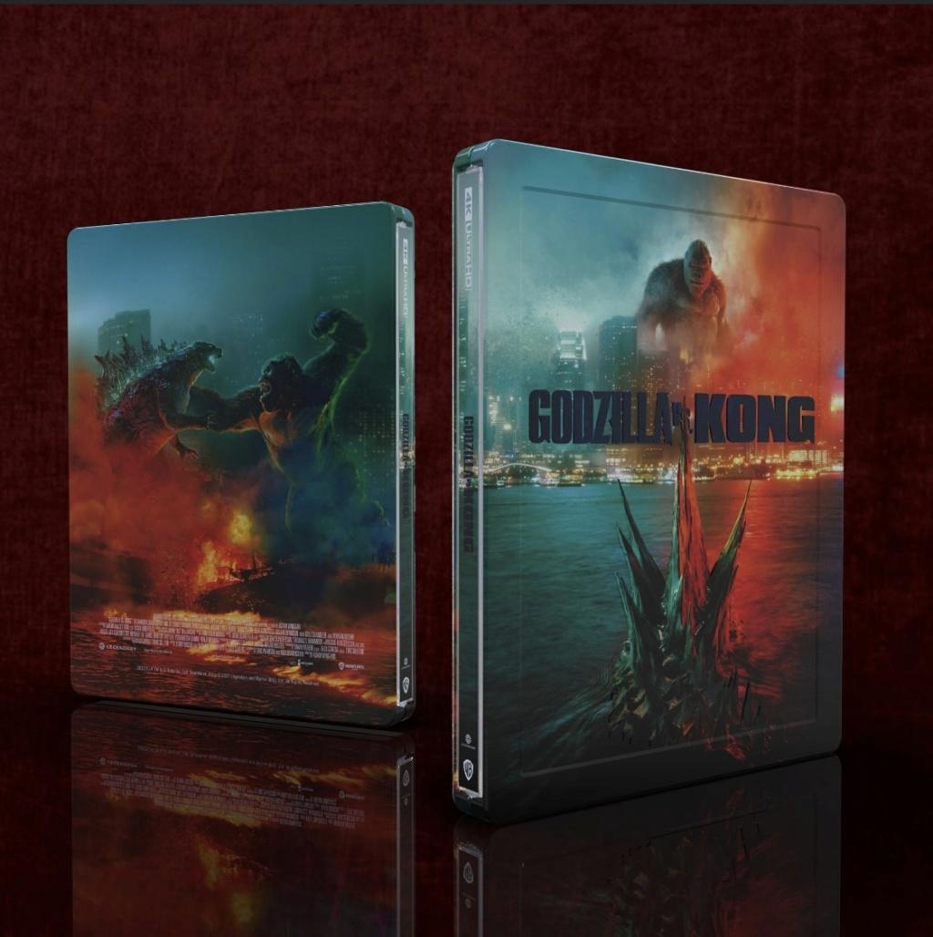 Godzilla vs Kong  édition Mantalab Fac13510