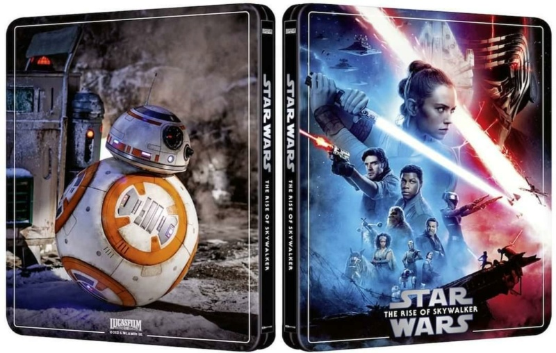 Star Wars Episode IX - The Rise of Skywalker (4K+2D Blu-ray Steelbook) Zavvi Fb_img10