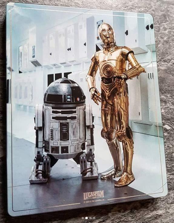 Star Wars: Episode IV - A New Hope (4K+2D Blu-ray SteelBook) Zavvi E - Page 2 Star-w14