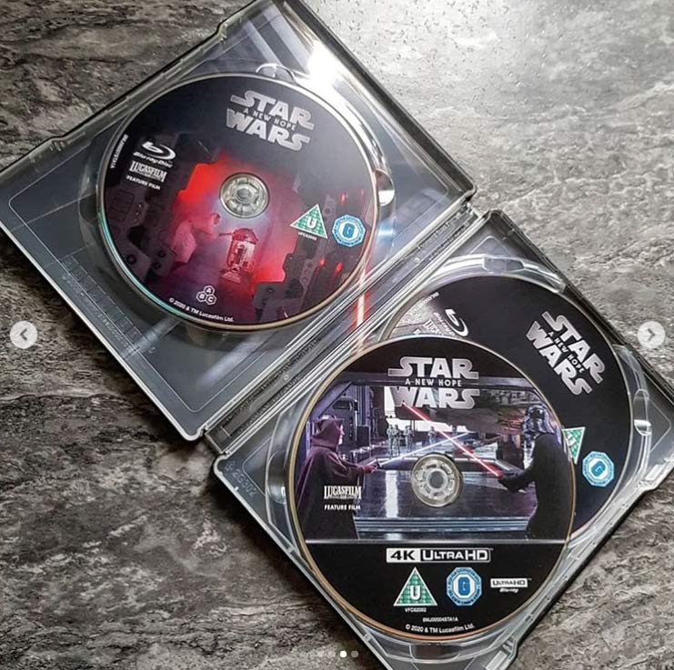 Star Wars: Episode IV - A New Hope (4K+2D Blu-ray SteelBook) Zavvi E - Page 2 Star-w17
