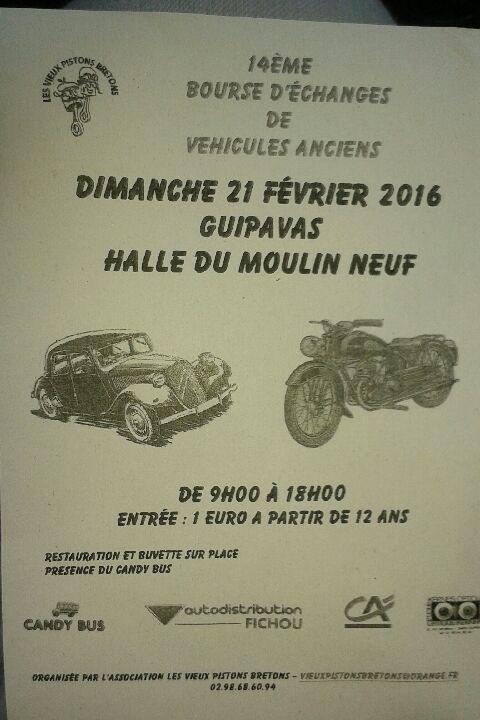14eme bourse d echange des vieux piston le 21 fevrier 2016 Guipavas Vieux_10