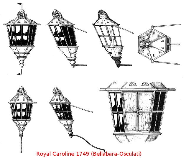 royal - ROYAL CAROLINE (scala 1:48) - Pagina 5 Fanali10