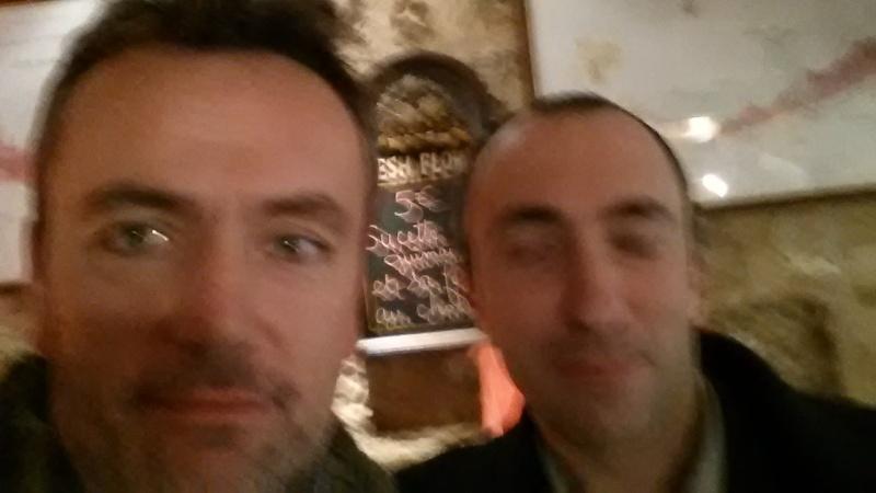 Petit resto entre Guillaume et Olivier.P 20151210