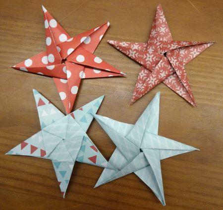 23 novembre : des étoiles ORIGAMI ... Dsc03033