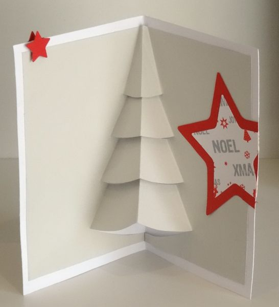 """6 décembre une carte pop up """"sapin de noël"""" Dsc03225"""