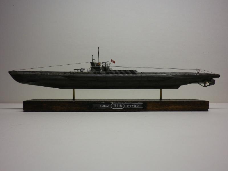 sous-marin type VII D  Revell  1/350 Imgp3926