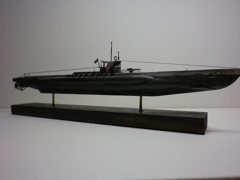 sous-marin type VII D  Revell  1/350 Imgp3928