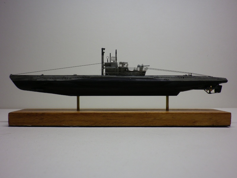 sous-marin type VII C  Maquette Mirage 1/400  Imgp3930
