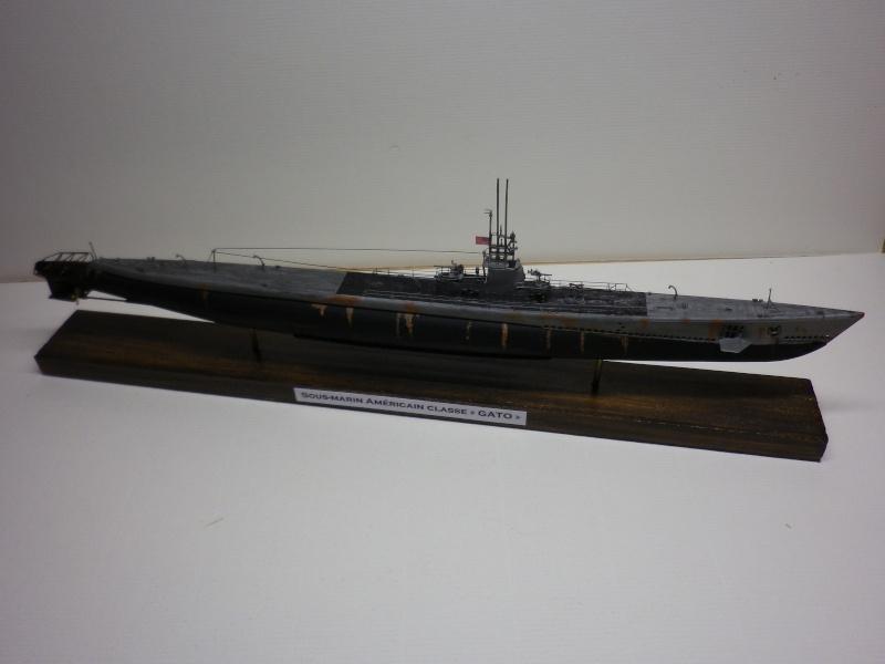sous-marin Américain AFV 1/350 classe GATO terminé Imgp3937