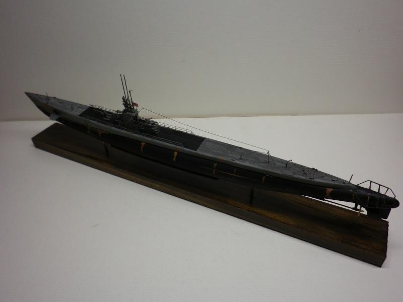 sous-marin Américain AFV 1/350 classe GATO terminé Imgp3938