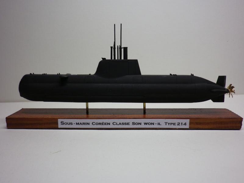 sous-marin Coréen ( type 214 allemand ) 1/350 wolfpack Imgp3940