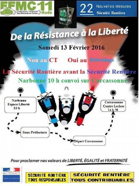 Manif le samedi 13 février Narbonne et Carcassonne 12548810