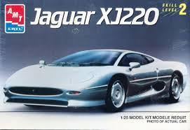 AMT Jaguar XJ220 1/25 Xj220k10
