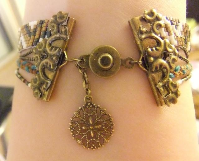 [Steampunk] Bijoux pour princesse indienne/steampunk  Dscf4326