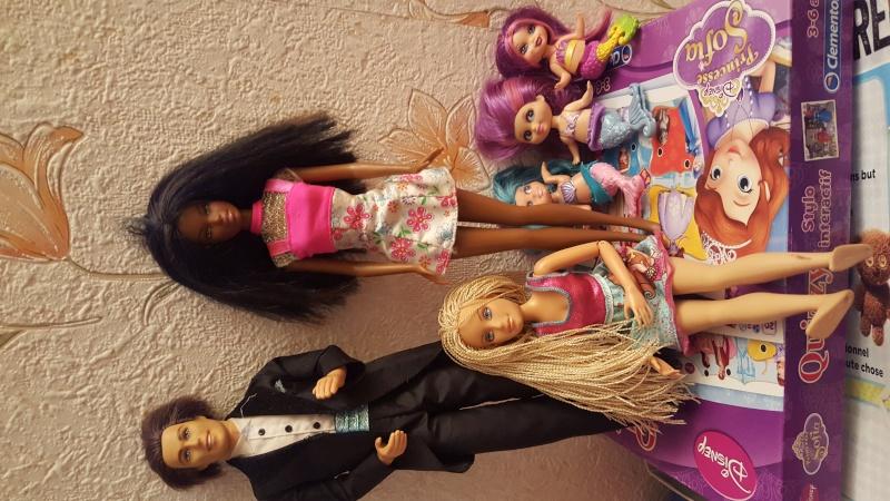 ma collection de barbie /bratz/disney et autres 20160111