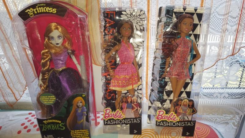 ma collection de barbie /bratz/disney et autres 20160226