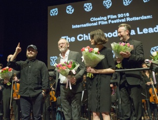 PICTURES FROM IFFR SCREENING OF THE CHILDHOOD OF A LEADER 10710