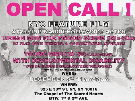 NEW CASTING CALLS FOR 'GOOD TIME' 11a11