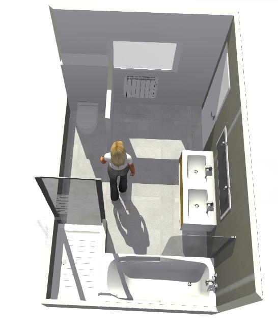 Création d'une salle de bains. Madame11