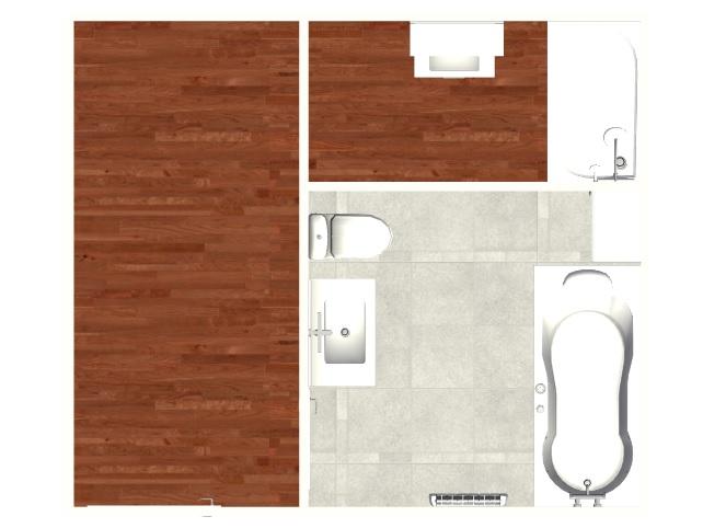 Création d'une salle de bains. Madame15