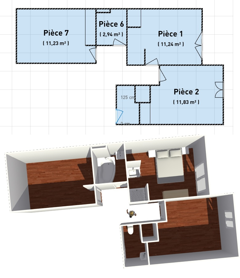 conseils d'aménagement d'une chambre parental Rochdi10