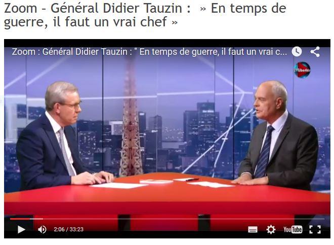 Le Général Tauzin, ex-chef de corps du 1er RPIMa n'a pas sa langue dans sa poche et il en a aussi dans le pantalon... A voir absolument. ! A écouter absolument . Tauzin10