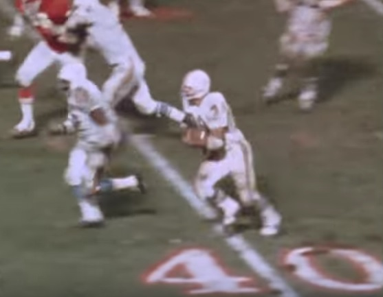 1971 AFC Playoff Miami @ KC 19711214
