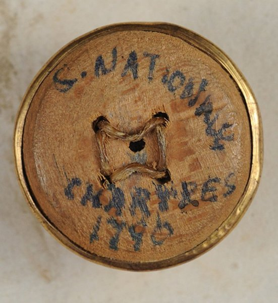 Bouton de la Garde Nationale de Chartres - 1790 Bouton10