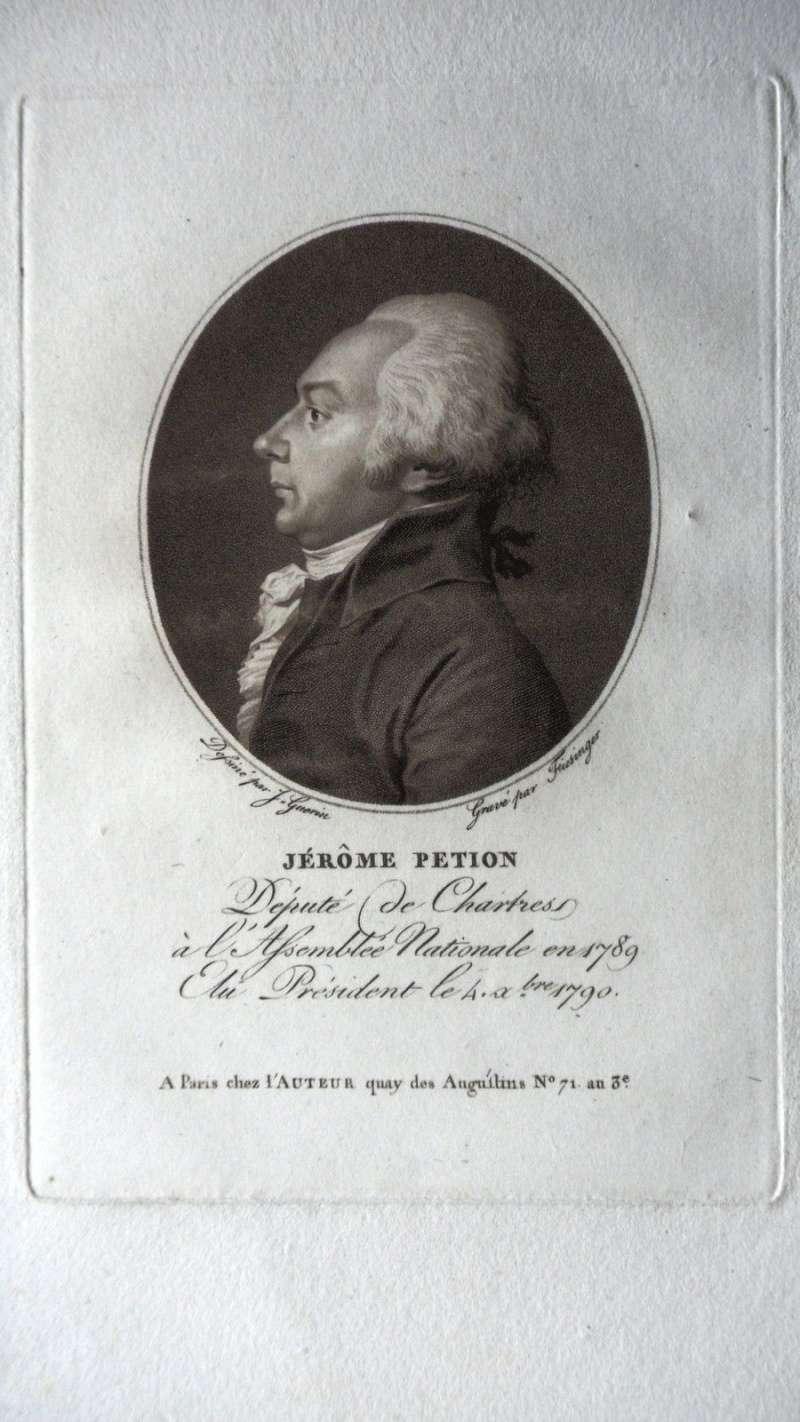 Jerome PETION de Villeneuve , Député DE CHARTRES EN 1789 Petion10
