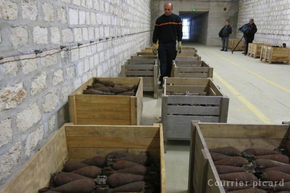 Nouveaux locaux pour le Déminage de l'Aisne Poudri10