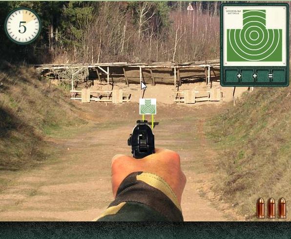 Entrainez vous au tir au pistolet Tir210