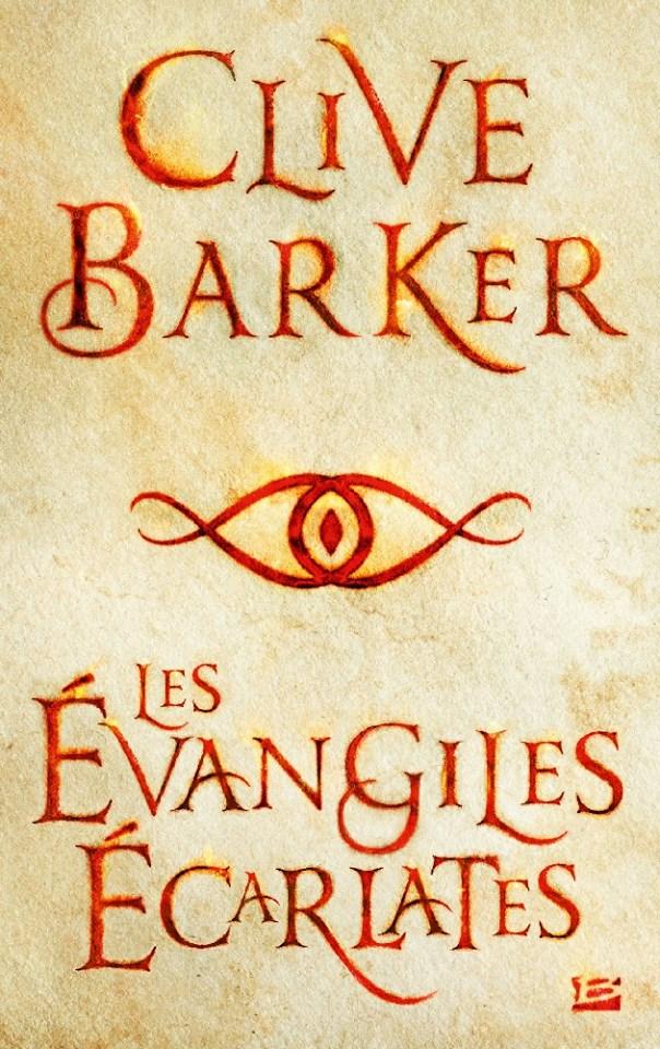 BARKER Clive - Les évangiles écarlates Yvangi10