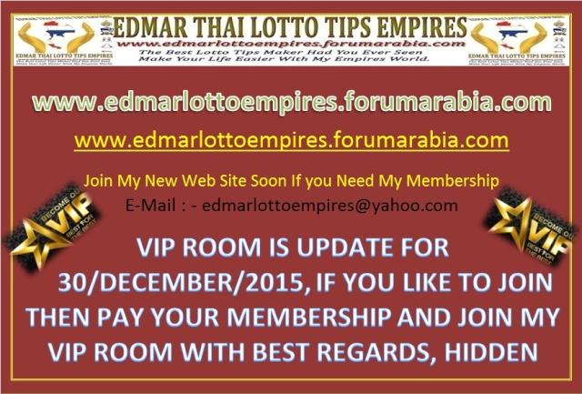 VIP ROOM IS UPDATE FOR 30/DECEMBER/2015 Facebo15