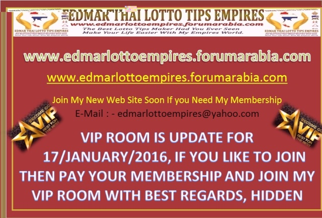 VIP ROOM IS UPDATE FOR 17/JANUARY/2016 Facebo16