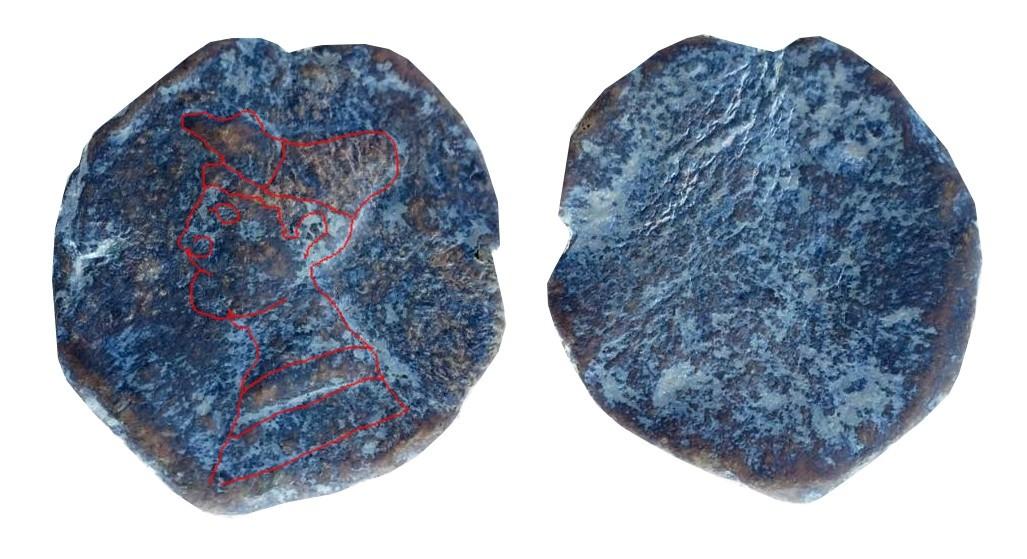 Les monnaies antiques en plomb Marcia10