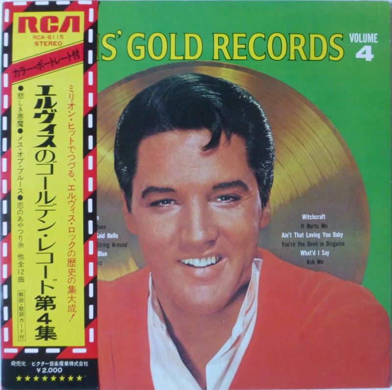 Elvis' Gold Records Volume 4 110