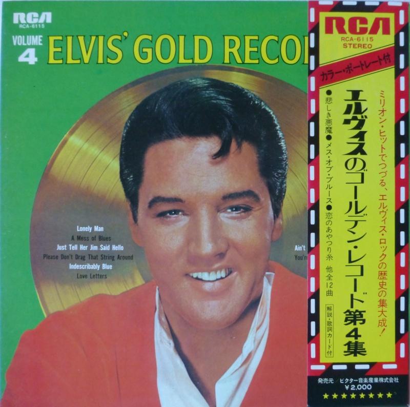 Elvis' Gold Records Volume 4 1a10