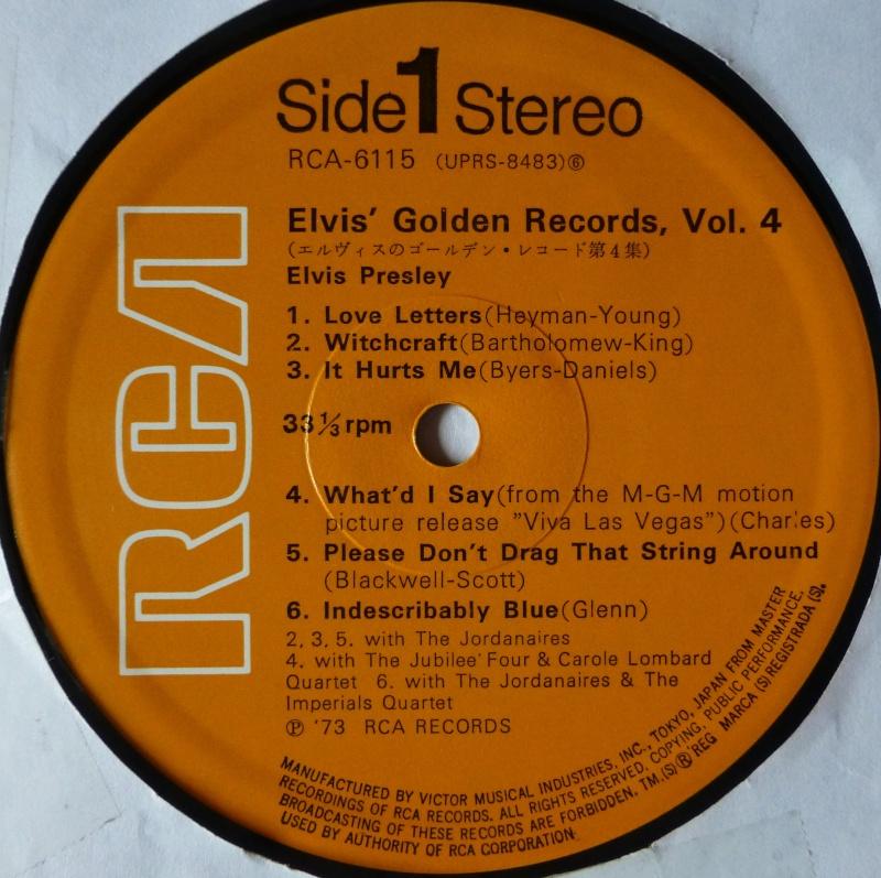 Elvis' Gold Records Volume 4 1e10