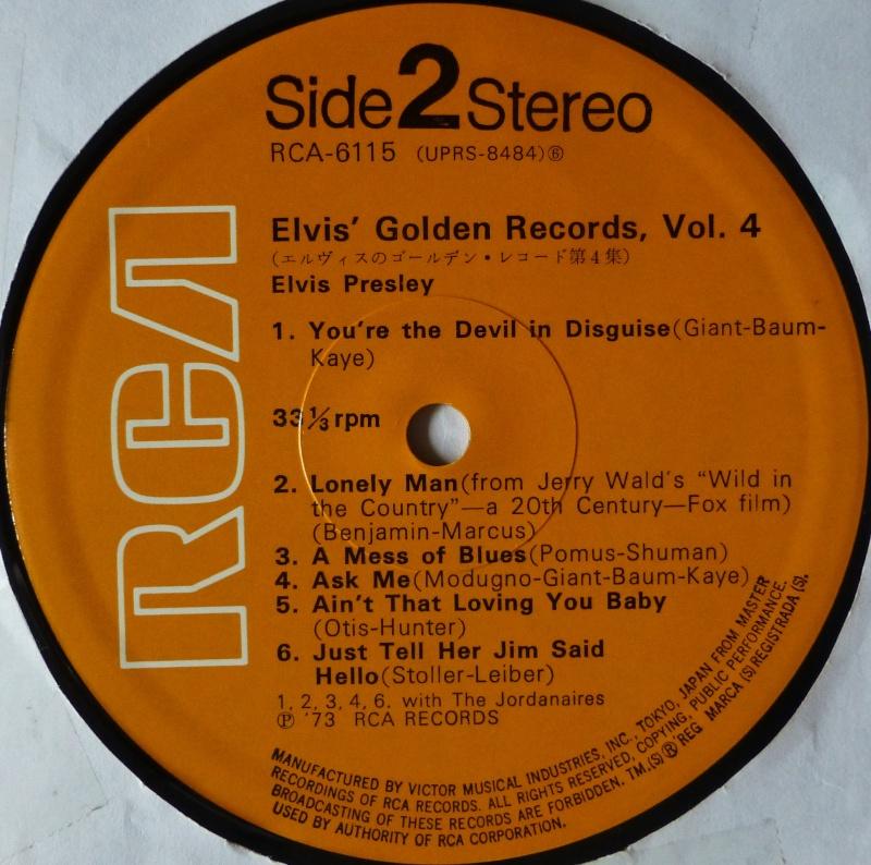 Elvis' Gold Records Volume 4 1f10