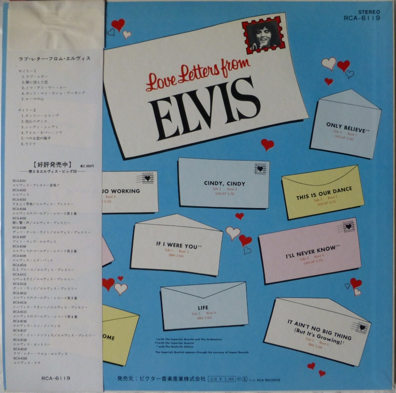 LOVE LETTERS FROM ELVIS 3b10