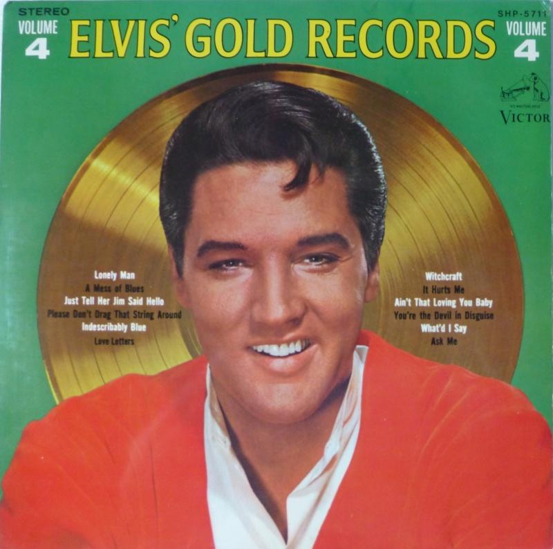 Elvis' Gold Records Volume 4 P1060825