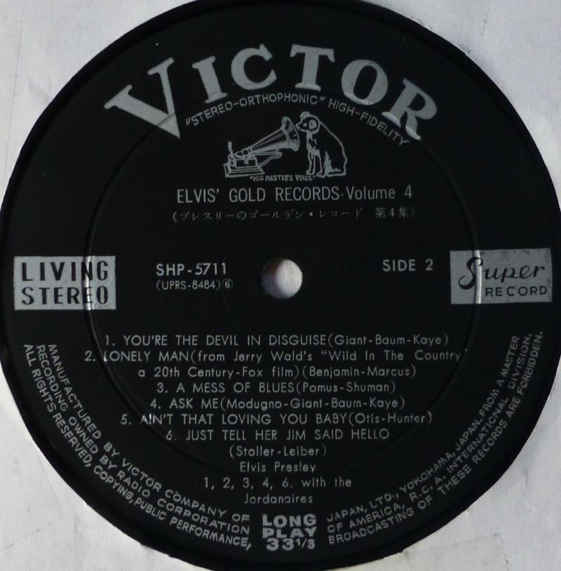 Elvis' Gold Records Volume 4 P1060829