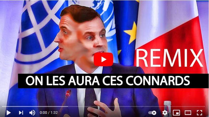 """Regardez """"On les aura ces c******* ! Macron Remix"""" sur YouTube 00macr10"""