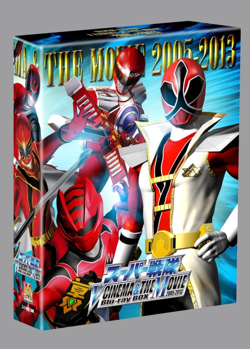 Super Sentai V CINEMA & THE MOVIE Blu-ray BOX 81lvha10