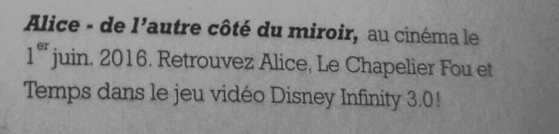 Alice de l'autre côté du Miroir - Page 2 12717910