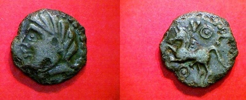 Rare bronze Bituriges à confirmer Mel610