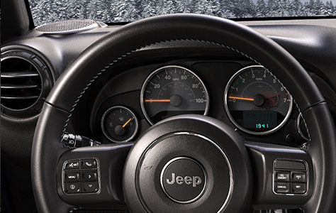 Le Jeep Wrangler Unlimited is back... country Lather10